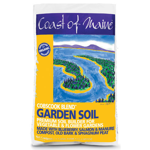 Cobscook Blend Garden Soil Coast Of Maine Organic Products
