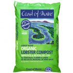 Lobster Compost, Organic compost soil, Lobster soil, omri listed organic lobster compost, Maine compost, made in Maine soil