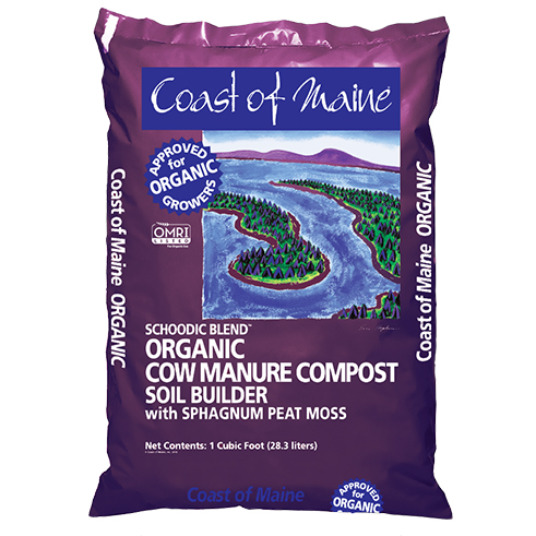 Schoodic Blend Cow Manure Compost Coast Of Maine Organic Products